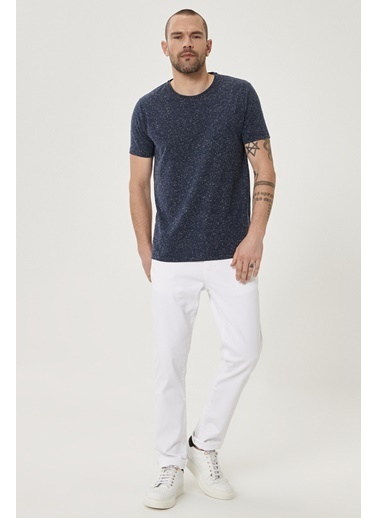 Altınyıldız Classics 360 Derece Her Yöne Esneyen Rahat Slim Fit Pantolon 4A0121200002 Beyaz